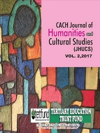 View Vol. 2 No. 1 (2017): CACH Journal of Humanities and Cultural Studies